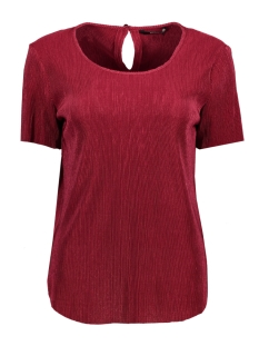 Only T-shirt onlLIGA S/S TOP WVN 15144944 Rumba Red