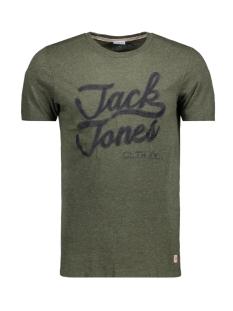 Jack & Jones T-shirt JORAUTHENTIC TEE SS CREW NECK 12128508 Forest Night