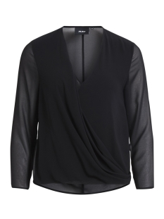 Object Blouse OBJSABAH L/S TOP APB 23025772 Black