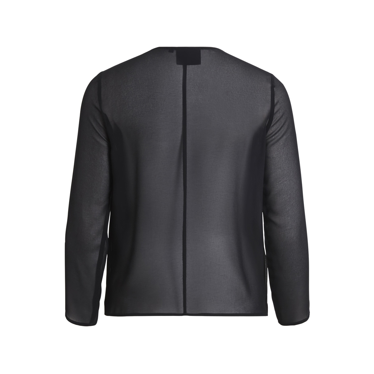 objsabah l/s top apb 23025772 object blouse black