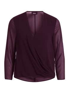 Object Blouse OBJSABAH L/S TOP APB 23025772 Winetasting