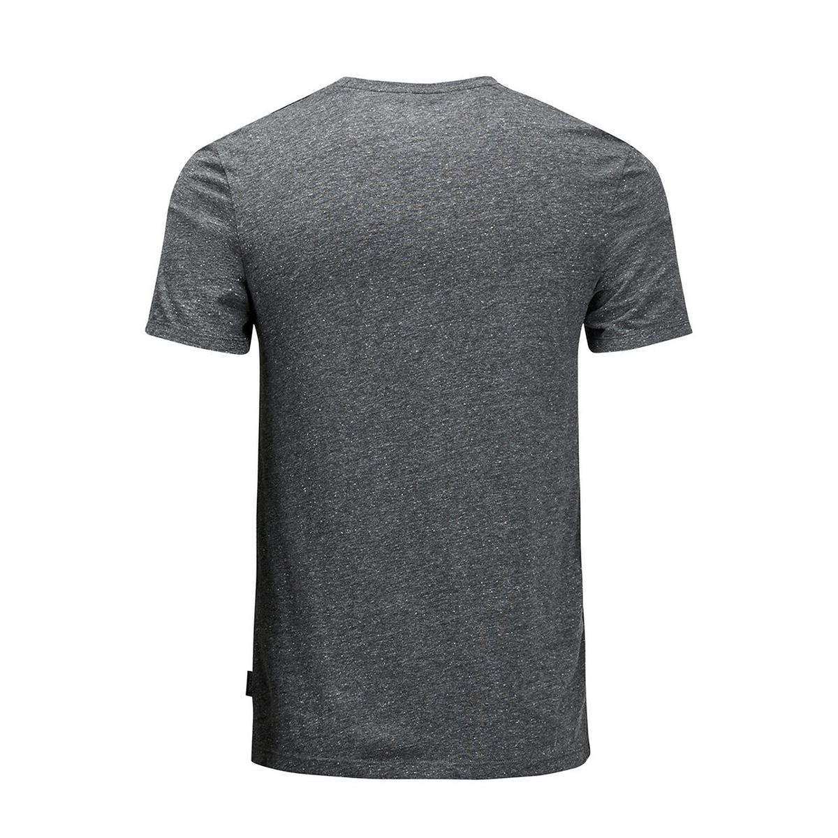 jortort tee melange pack 12125157 jack & jones t-shirt asphalt