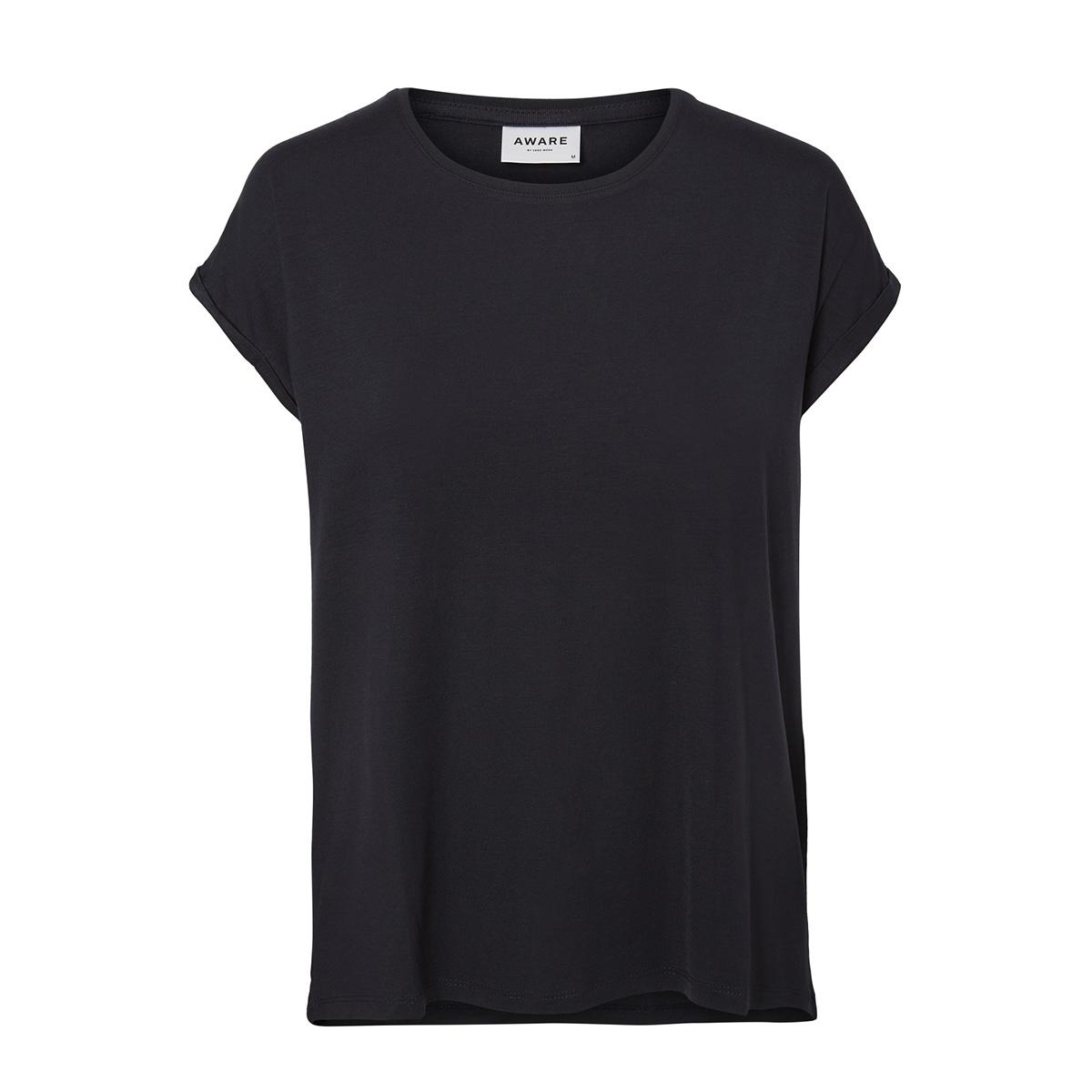 vmava plain ss top ga noos 10187159 vero moda t-shirt night sky