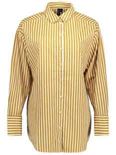 Vero Moda Blouse VMCANNES L/S LONG SHIRT O17 10196220 Harvest Gold