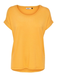 Only T-shirt onlMOSTER S/S O-NECK TOP NOOS JRS 15106662 Yolk Yellow