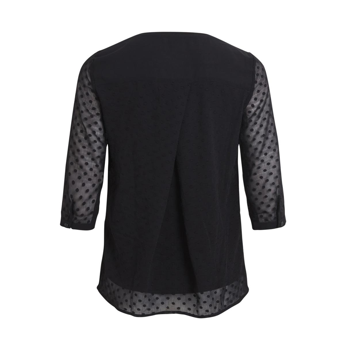 objclaire 3/4 top au a 23026375 object blouse black