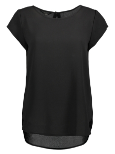 Only T-shirt onlMESA S/S LUX TOP SOLID  WVN  15147637 Black