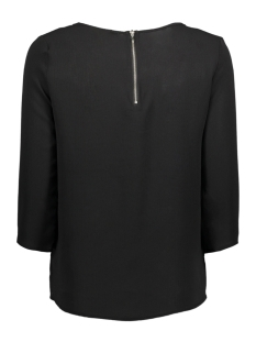 onlmesa lux solid 3/4 sleeve top wv 15147735 only blouse black