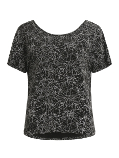 Vila T-shirt VIYRENNA TOP 14046185 Black