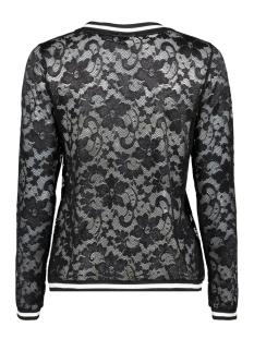 jdymaya l/s lace top jrs 15153978 jacqueline de yong t-shirt black