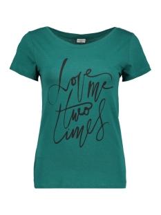 Jacqueline de Yong T-shirt JDYCHICAGO S/S PRINT TOP 10  JRS 15146739 Storm/LOVE ME