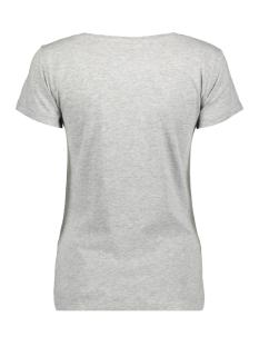 jdychicago s/s print top 10  jrs 15146739 jacqueline de yong t-shirt light grey melange