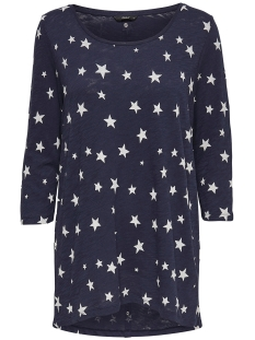 Only T-shirt onlCASA 3/4 AOP TOP JRS NOOS 15157699 Night sky