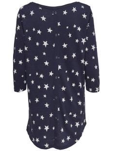 onlcasa 3/4 aop top jrs noos 15157699 only t-shirt night sky