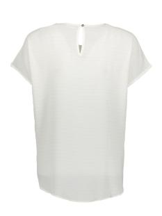 jdyserenity s/s top wvn 15143329 jacqueline de yong t-shirt cloud dancer/gold lurex