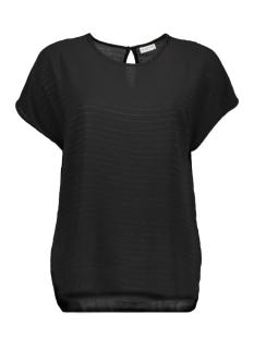 Jacqueline de Yong T-shirt JDYSERENITY S/S TOP WVN 15143329 Black/GOLD LUREX