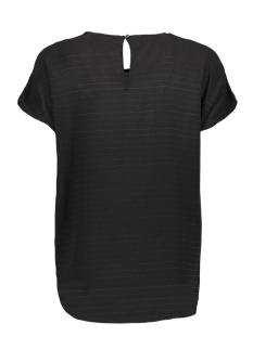 jdyserenity s/s top wvn 15143329 jacqueline de yong t-shirt black/gold lurex