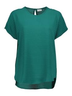 Jacqueline de Yong T-shirt JDYSERENITY S/S TOP WVN 15143329 Storm/GUNMETALL