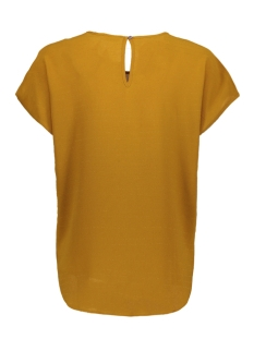 jdyserenity s/s top wvn 15143329 jacqueline de yong t-shirt golden brown/gold lurex