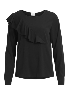 Vila T-shirt VIRIDA L/S TOP/TB 14044829 Black