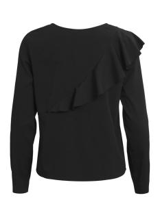 virida l/s top/tb 14044829 vila t-shirt black
