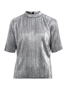 Vila T-shirt VISILVI 2/4 SLEEVE TOP 14043904 Silver Colour