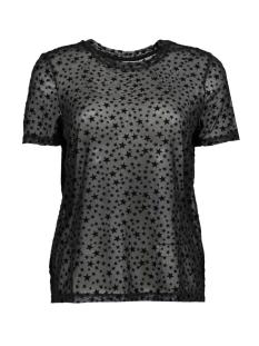 nmparis  s/s  top 8 27000452 noisy may t-shirt black