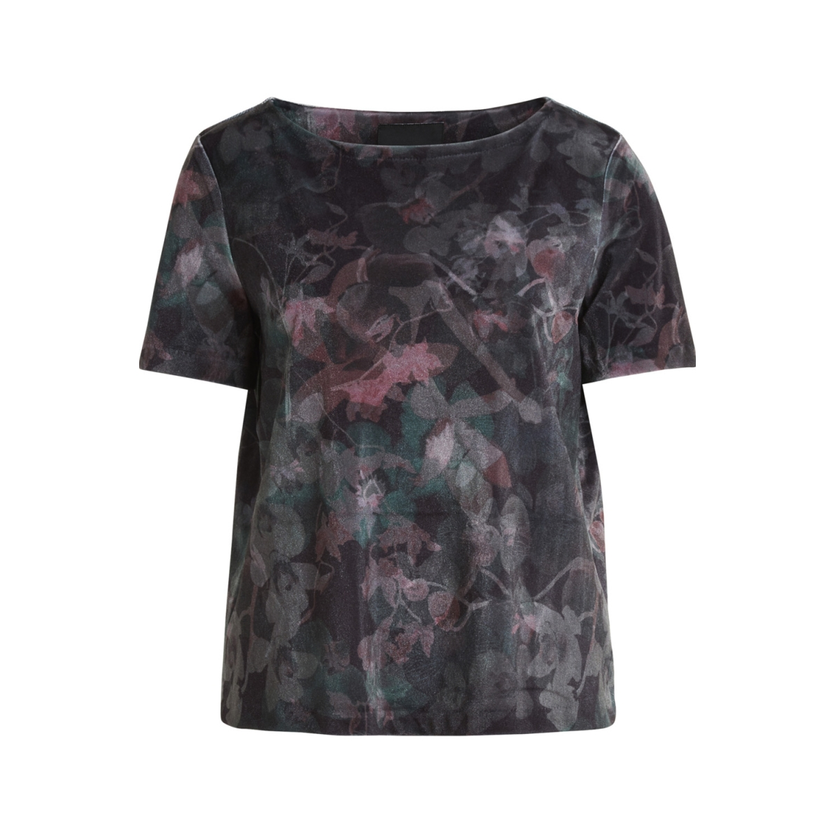 objnela s/s top 94 .c 23025749 object t-shirt black