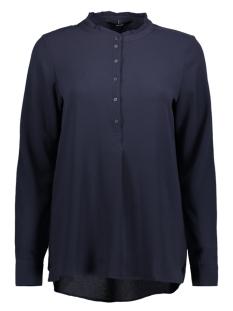 vmflori ls long top 10190659 vero moda blouse night sky