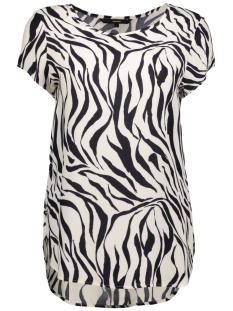 Vero Moda T-shirt VMBOCA SS BLOUSE MULTI PRINTED 10132802 Whitecap Gray/ZANZANA