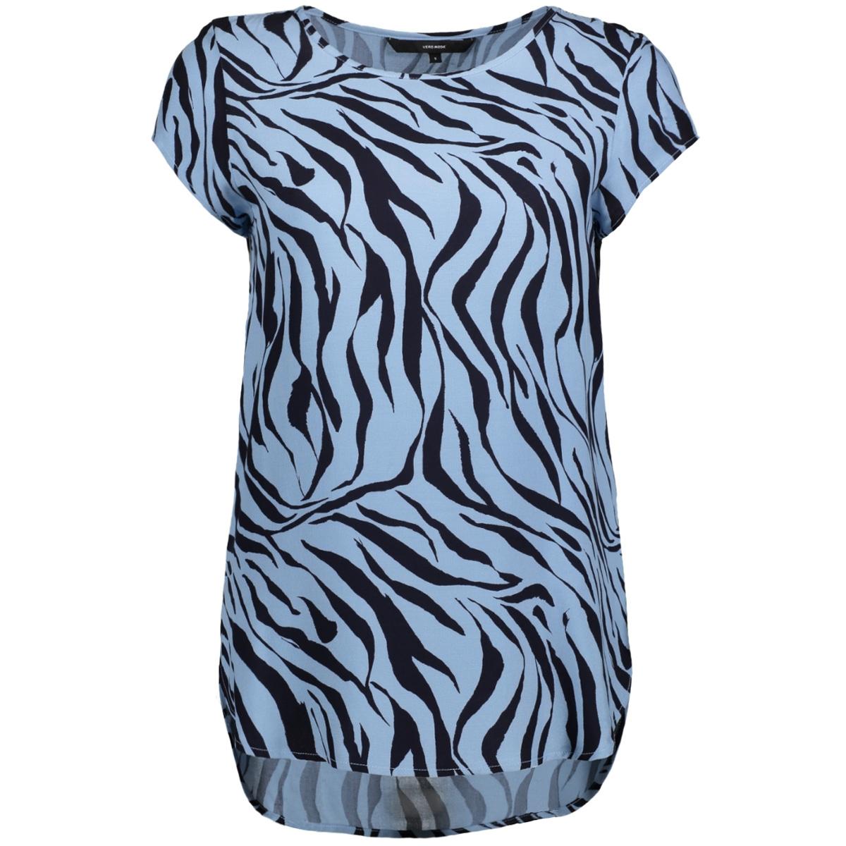 vmboca ss blouse multi printed 10132802 vero moda t-shirt allure/zanzana