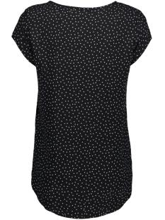 vmboca ss blouse multi printed 10132802 vero moda t-shirt black / dragana pr