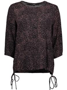 Vero Moda T-shirt VMLISSA BOCA 3/4 TOP 10190582 Old Rose / Lissa Prin