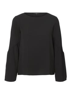 Vero Moda T-shirt VMFLORI LS FLAIR TOP IP 10190655 Black