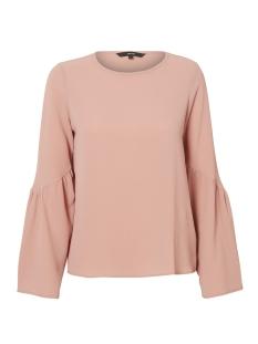 Vero Moda T-shirt VMFLORI LS FLAIR TOP IP 10190655 Old Rose