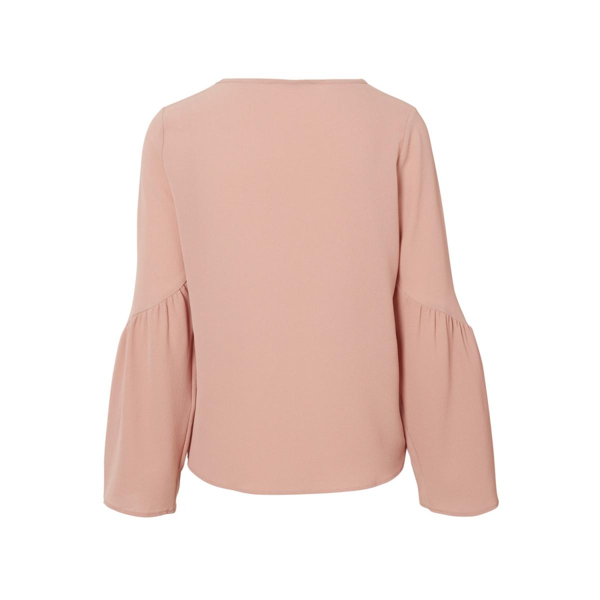 vmflori ls flair top ip 10190655 vero moda t-shirt old rose