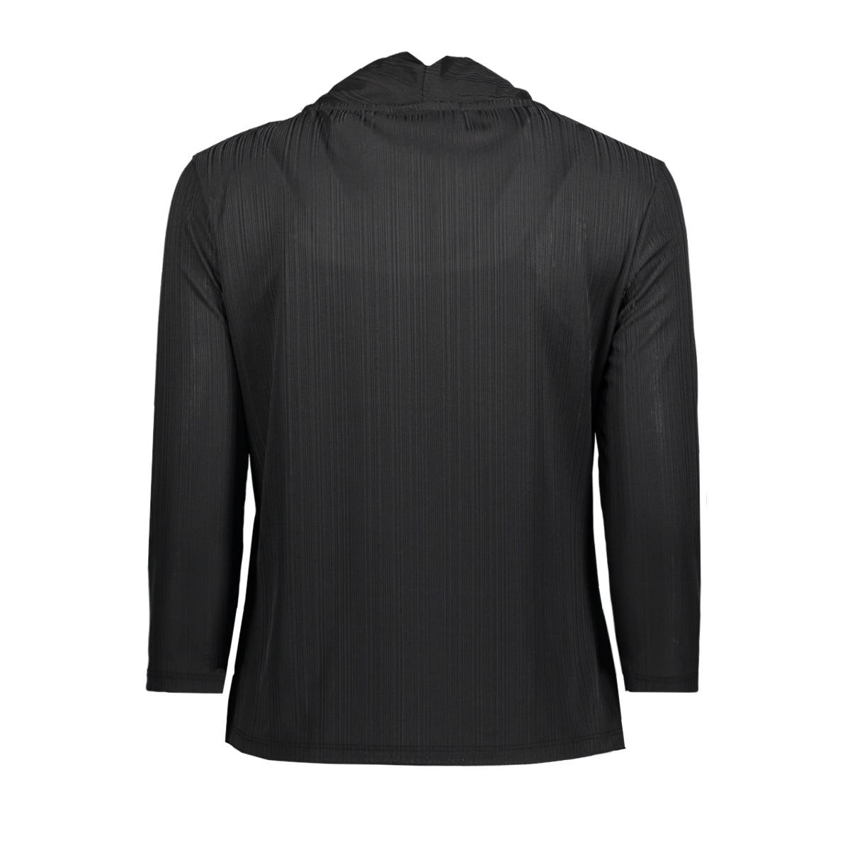 objcosma 3/4 top 94 23025542 object blouse black