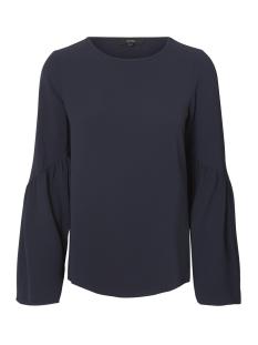 Vero Moda T-shirt VMFLORI LS FLAIR TOP IP 10190655 Night Sky