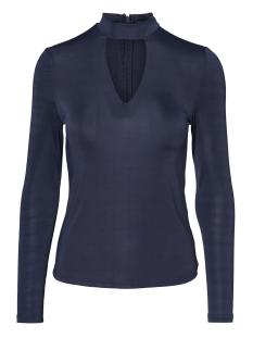Vero Moda T-shirt VMJENNIE LS TOP 10188274 Navy Blazer