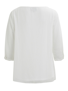 objlisse 3/4 top apb 23026452 object blouse gardenia