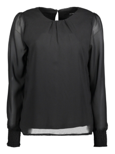 Vero Moda Blouse VMROSE L/S TOP 10189837 Black/SOLID