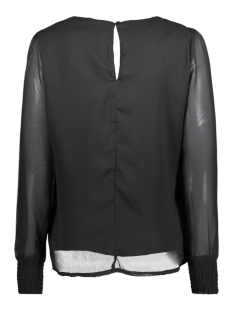 vmrose l/s top 10189837 vero moda blouse black/solid
