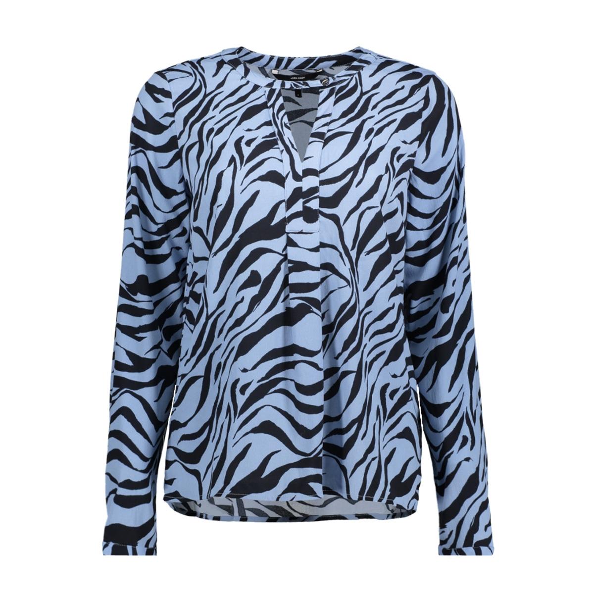 vmzanzana lia ls top 10190360 vero moda blouse allure/zanzana