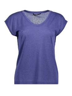 onlsilvery s/s v neck lurex top jrs noos 15136069 only t-shirt surf the web