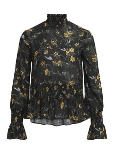 Object Blouse OBJLANI L/S TOP A WI 23026484 Black/Yellow