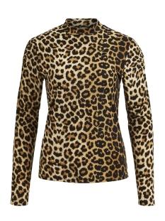 Vila T-shirt VITABENE L/S TOP/RX 14048119 Black/ANIMAL
