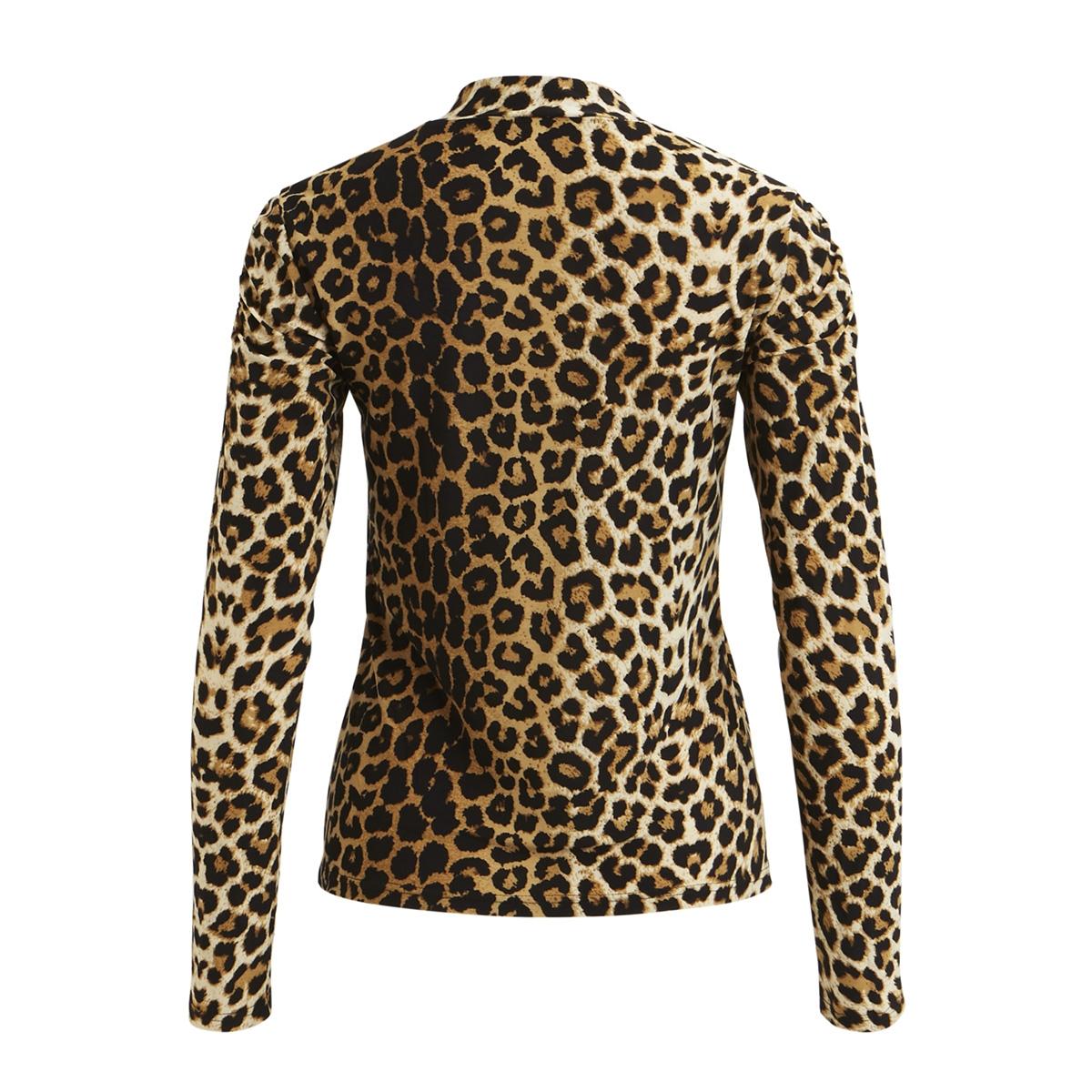 vitabene l/s top/rx 14048119 vila t-shirt black/animal