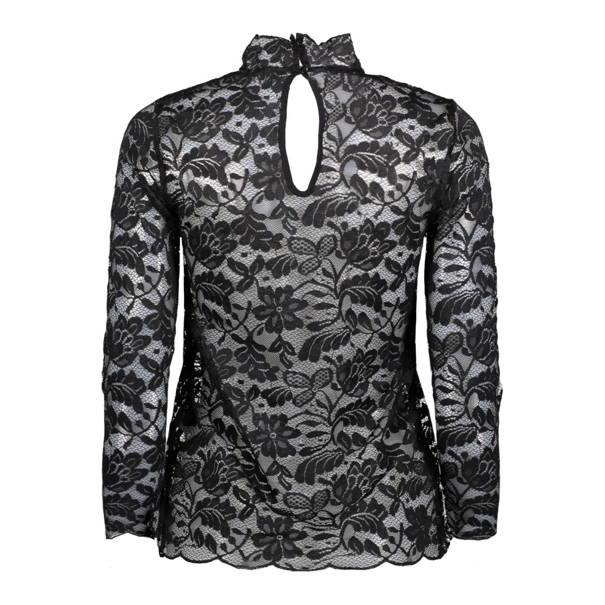 jdygoldie l/s highneck top jrs ka 15141725 jacqueline de yong t-shirt black