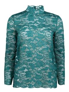 Jacqueline de Yong T-shirt JDYGOLDIE L/S HIGHNECK TOP JRS KA 15141725 Storm