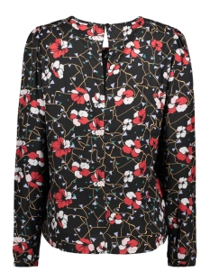 vmisolde l/s top d2-1 10193537 vero moda t-shirt black/isolde pri